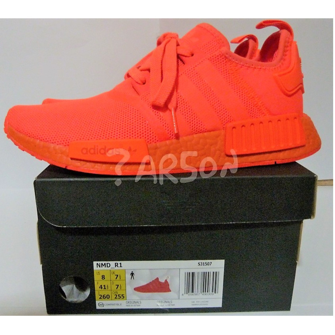 cb693ac3b Adidas NMD R1 Triple Red Solar Red US 8 (Clearance Sale Lowest Price ...