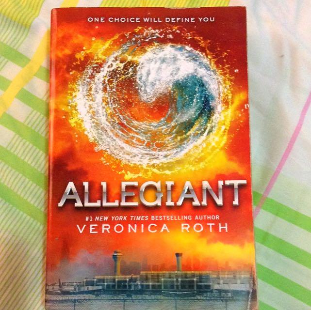 Allegiant (Divergent 3rd Book)