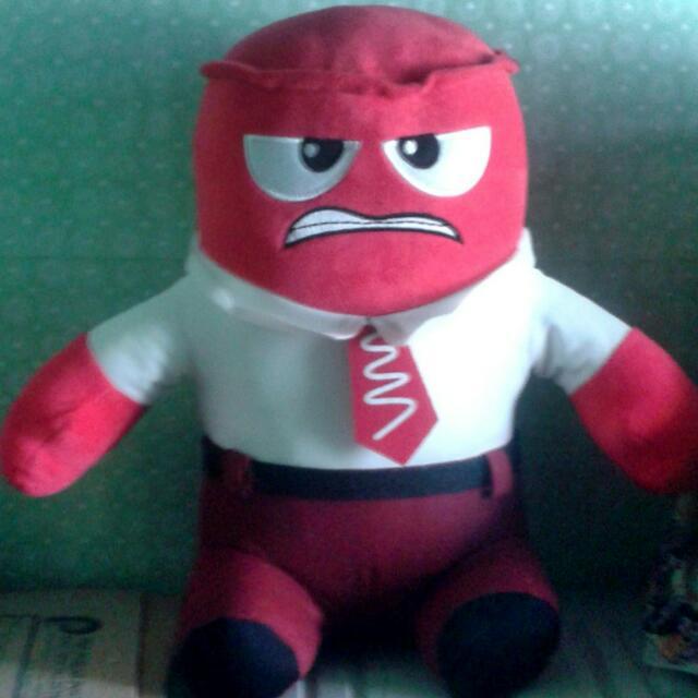 Anger Plush Toy