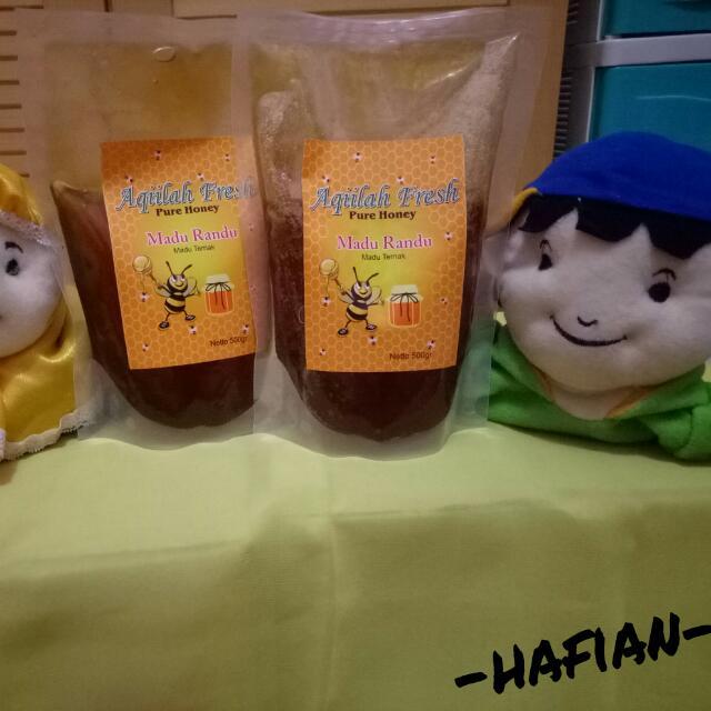 aqiilah fresh pure honey 500gr