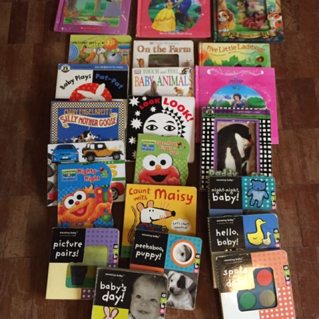 Assorted Baby Toddler Books