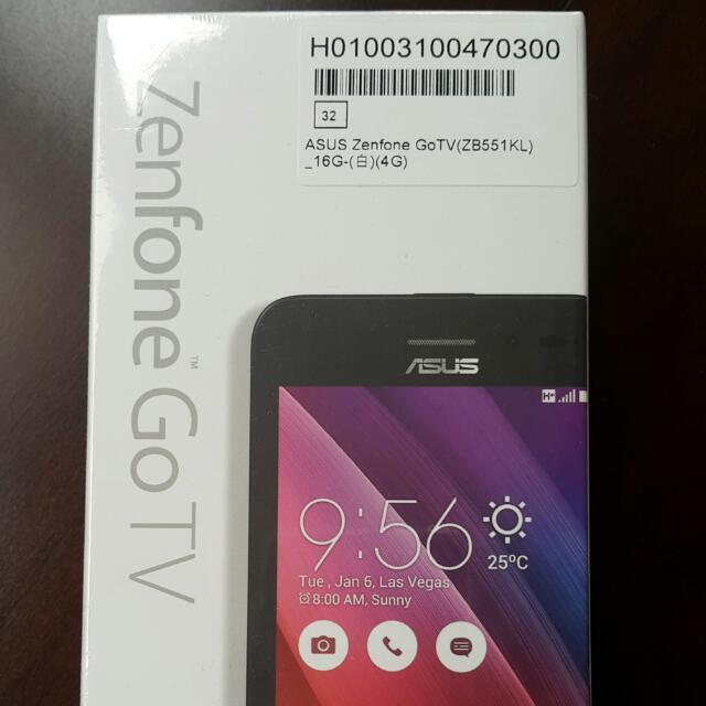 Asus Zenfone GoTV 16G 白white ZB551KL