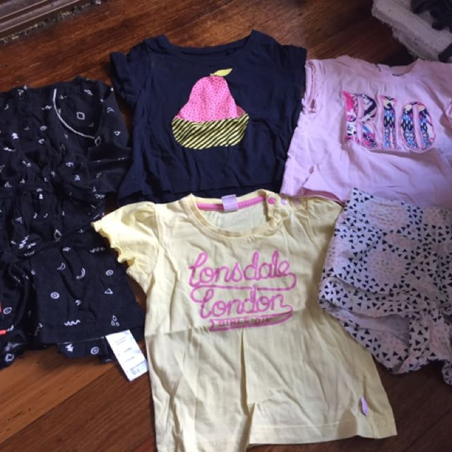 Baby Girl Clothes Size 1