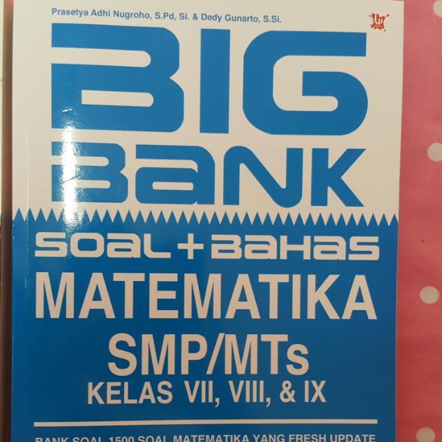 BANK SOAL fisika Dan Matematika SMP