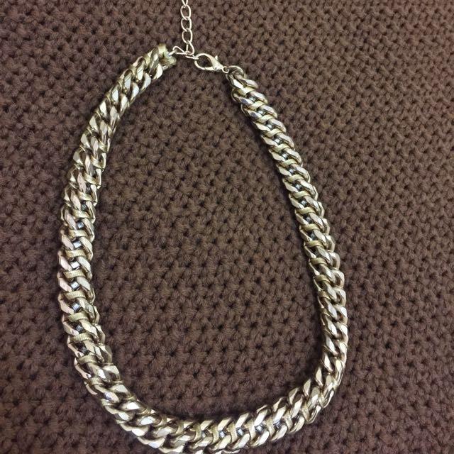 Bershka Big Chain Necklace