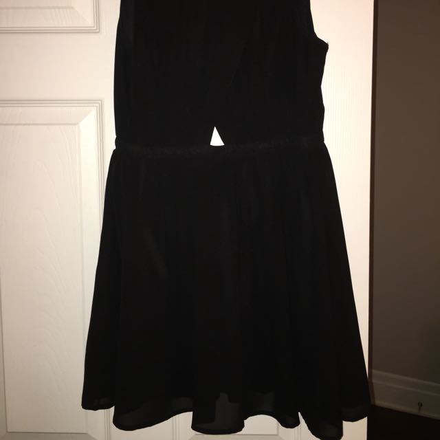 Black Dress From Honey