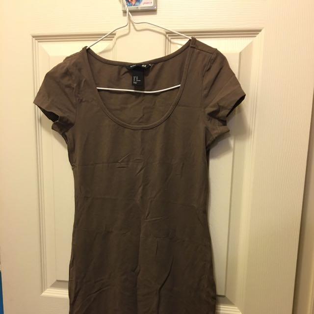 SOLD - Bodycon Basic H&m Dress