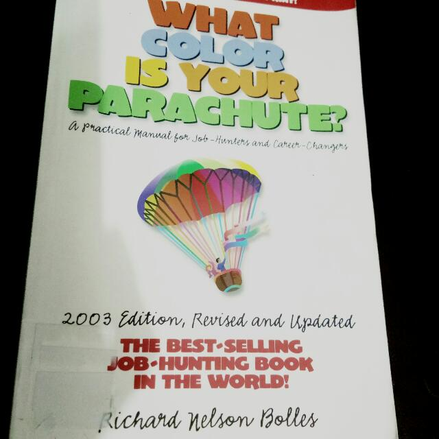 Book: What Color Is your Parachute, Books, Books on Carousell