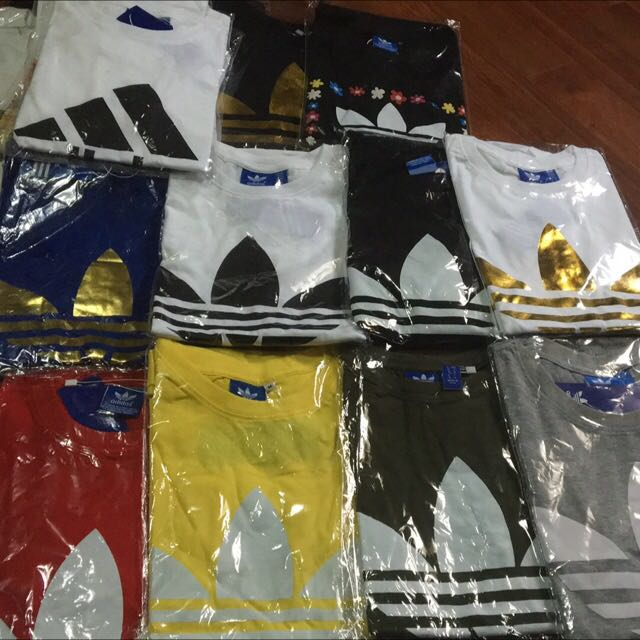 Brand New Adidas And Nike T-shirt