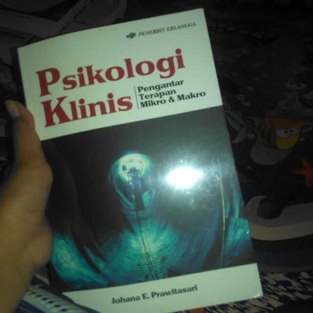 Buku Psikologi Klinis penerbit Erlangga