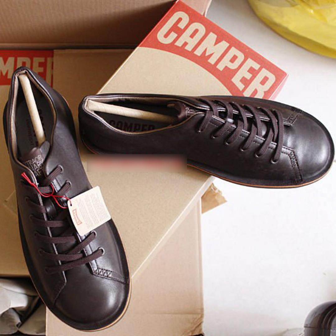 Camper Beetle 18648-015 咖啡色休閒鞋現貨