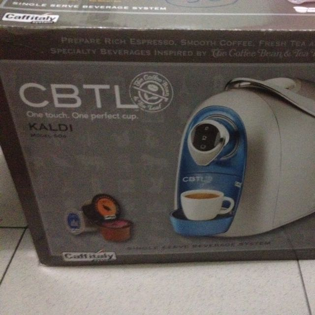 CBTL Coffee Maker
