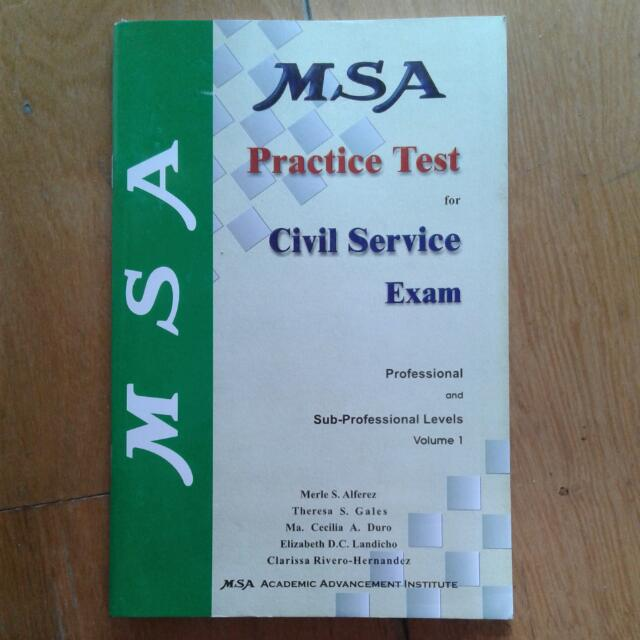 Civil Service Practice Test