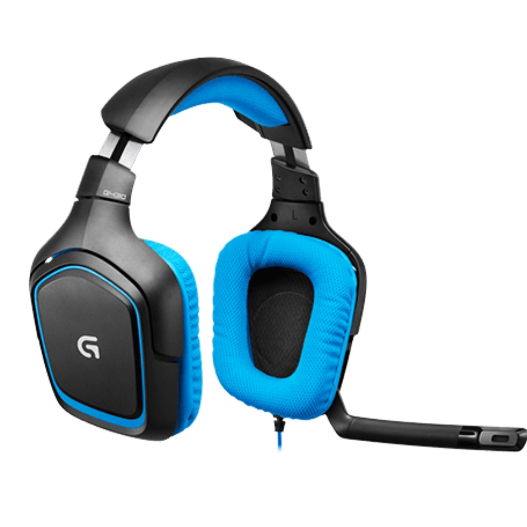 Logitech G430 DTS Headphone: X and Dolby 7 1 Surround Sound Gaming Headset