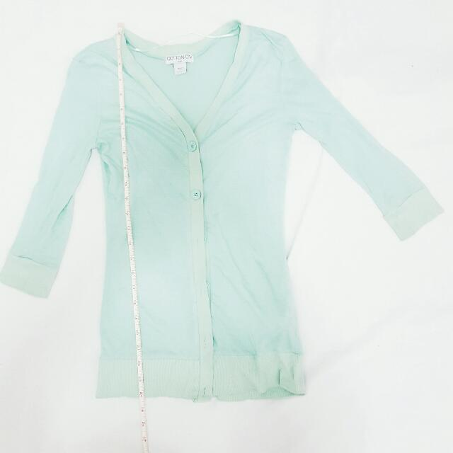 Cotton On Mint Cardigan