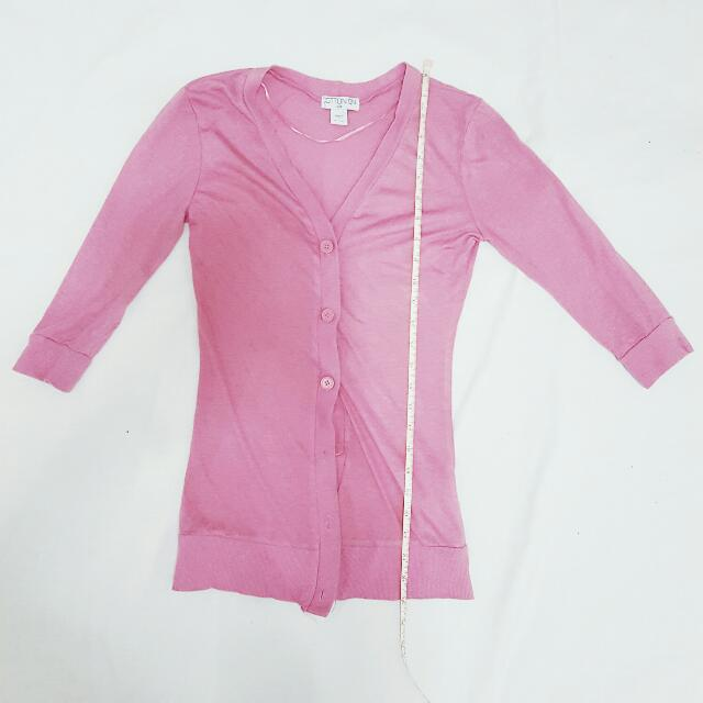 Cotton On Pink Cardigan