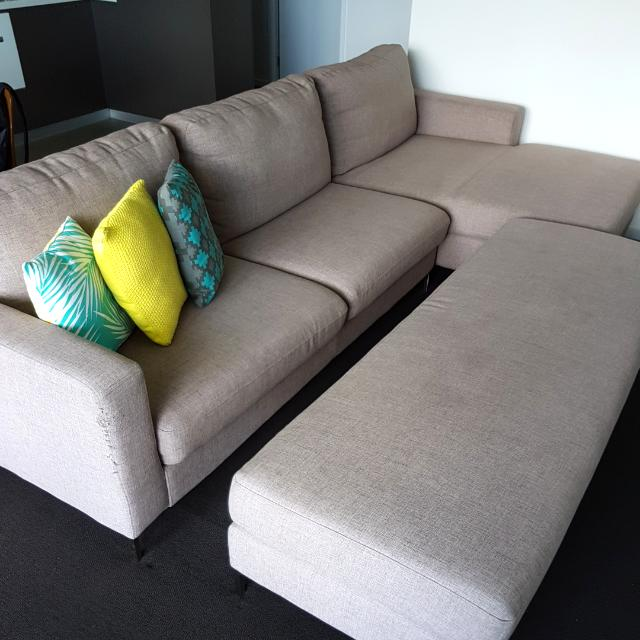 Couch & Ottoman
