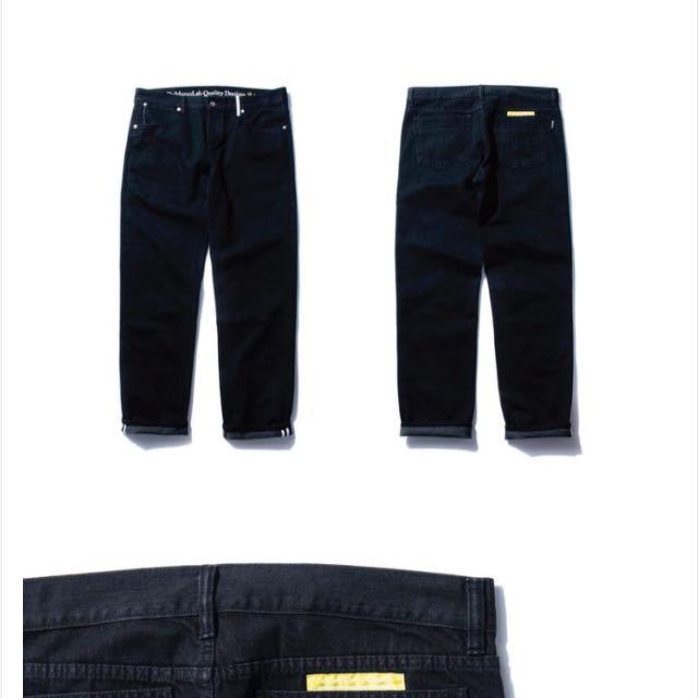 Demarcolab 黑色 丹寧褲 牛仔褲