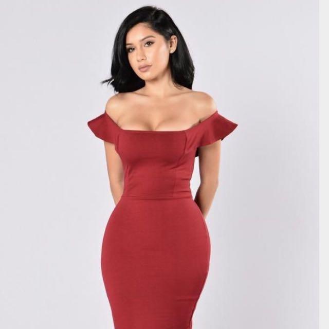 Fashion Nova Red Dress BNWT
