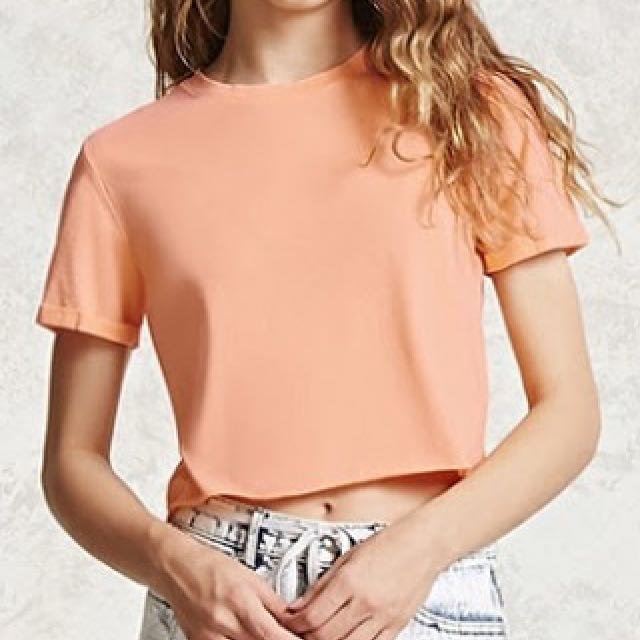 FOREVER21 CROPTEE
