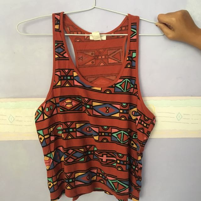 FOREVER 21 Tribal Tank Top