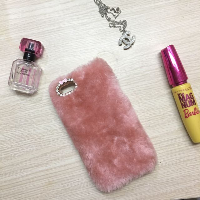 Fur Case Rose Pink Ip5/5s