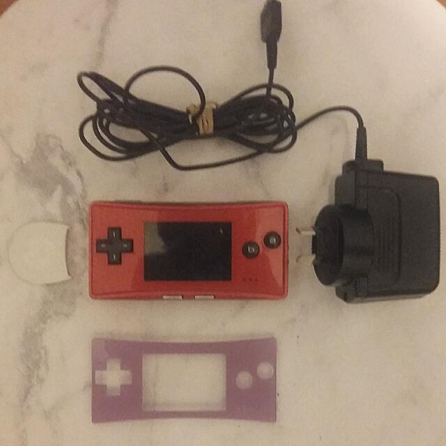 Red Nintendo Gameboy Micro