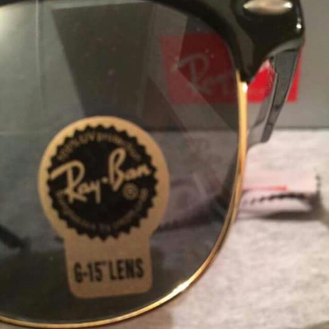 Genuine Ray Ban Clubmaster!!