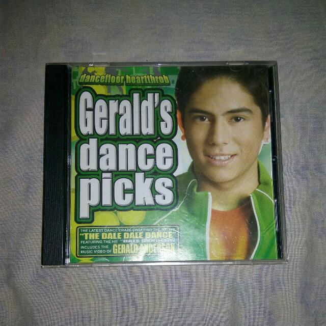 Gerald's Dance Picks Cd