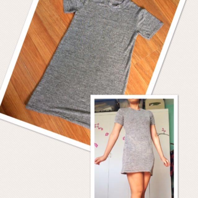 Gray Lazy Day Dress