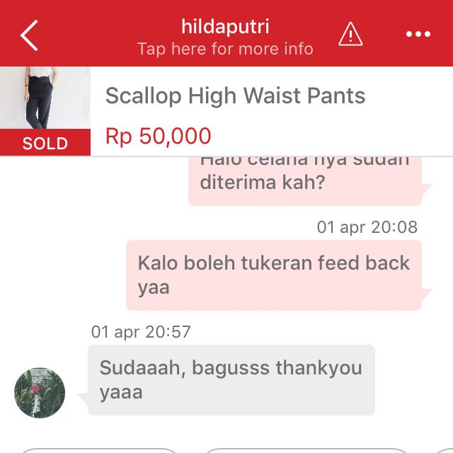 Happy Costumer