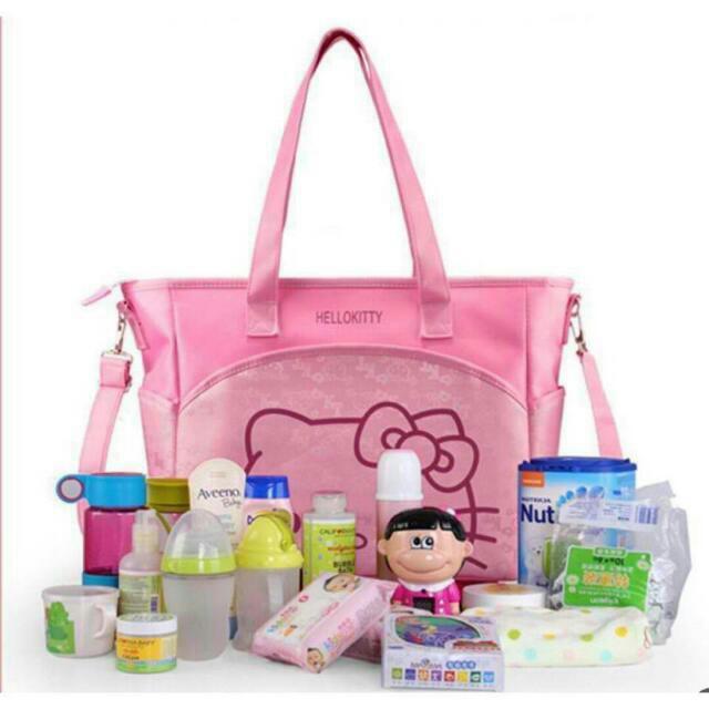 Hello Kitty Baby Diaper Bag