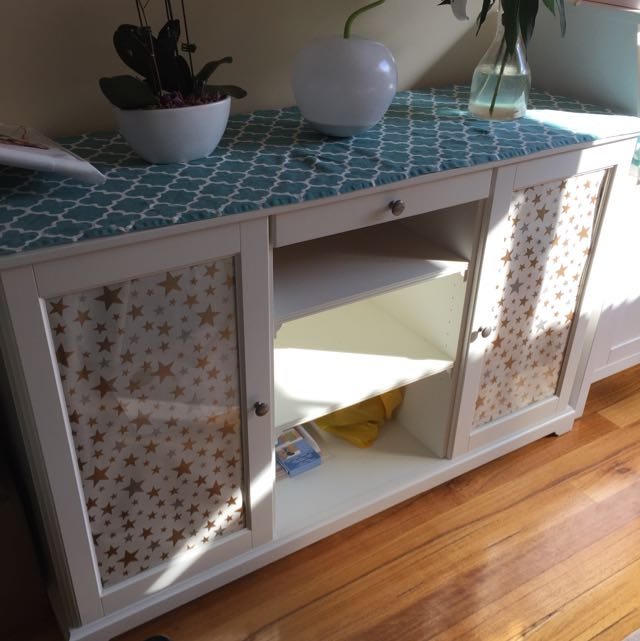 ikea liatorp sideboard white 145 x 87 cm home furniture furniture on carousell. Black Bedroom Furniture Sets. Home Design Ideas