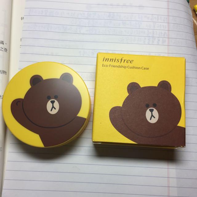 Innisfree雄大粉盒