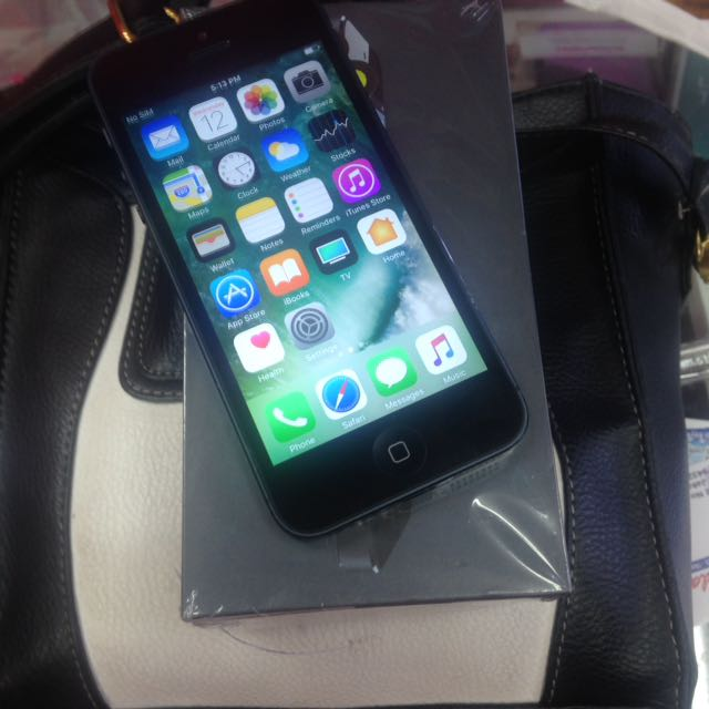 Iphone 5 Black 16 Giga