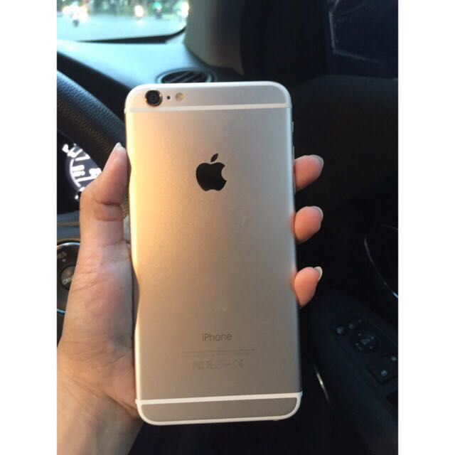 Iphone 6+/6 Plus 64GB Gold DIJAMIN MULUS TERAWAT