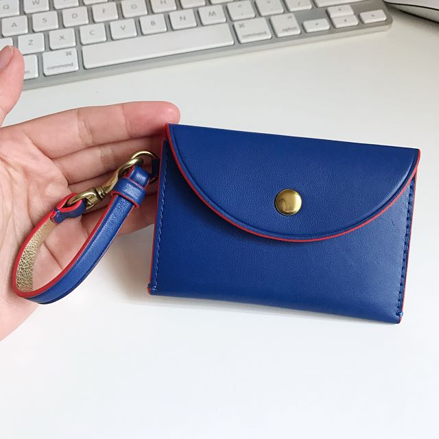 J Crew Leather Card Holder