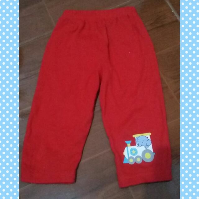 Juniors Red Pants