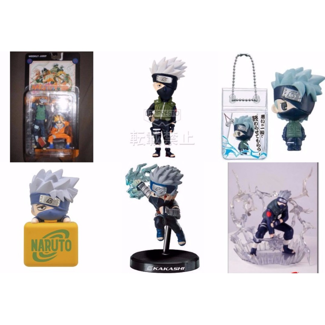 Kakashi figures and merchandise (Naruto Shippuden)