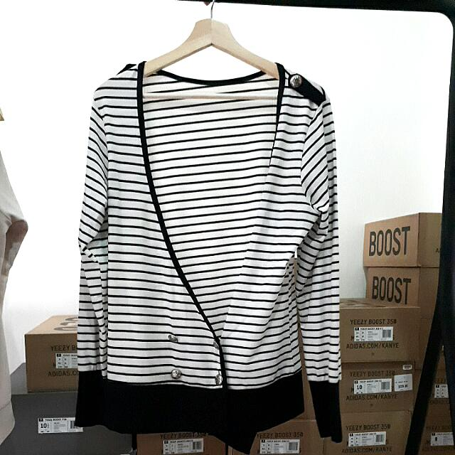 kardigan cardigan sweater jaket pria korea fashion