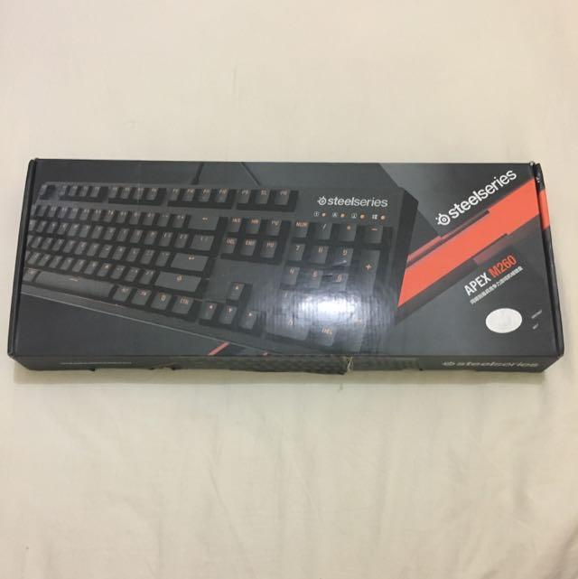 keyboard steelseries apex m260 Heat Orange