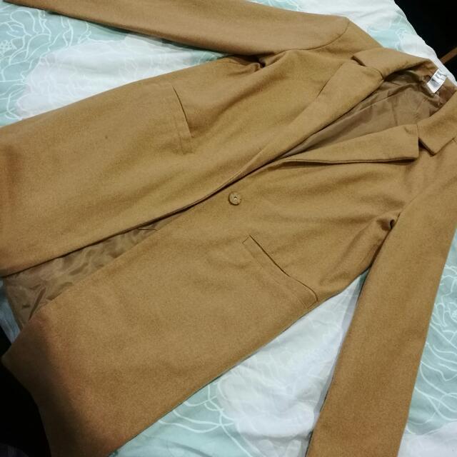 Kmart Long Camel Coat