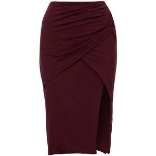 Kookai BLACK Ayer Skirt
