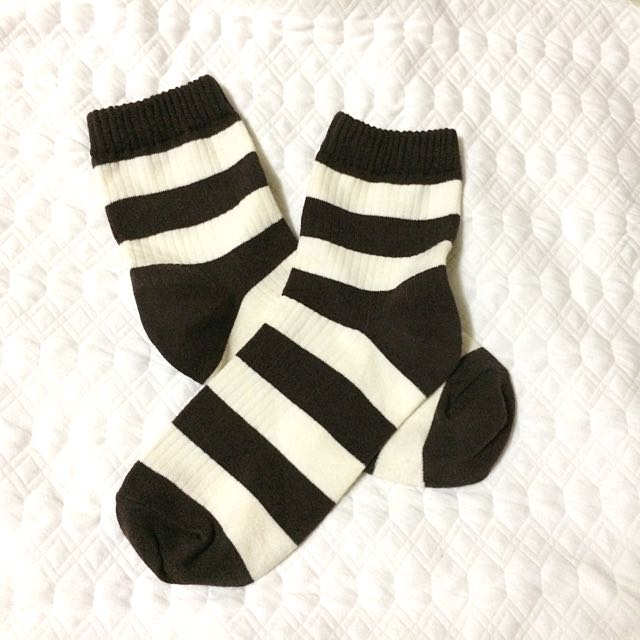 Korean-Style Stripes Socks