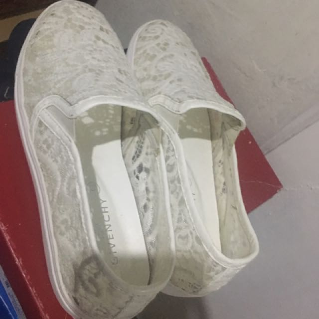 Lace Shoes Slip On