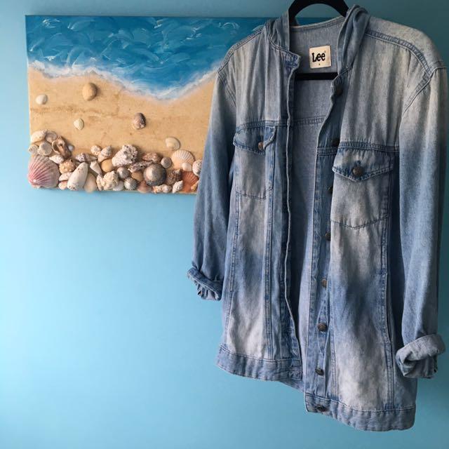 Lee Oversized Denim Jacket