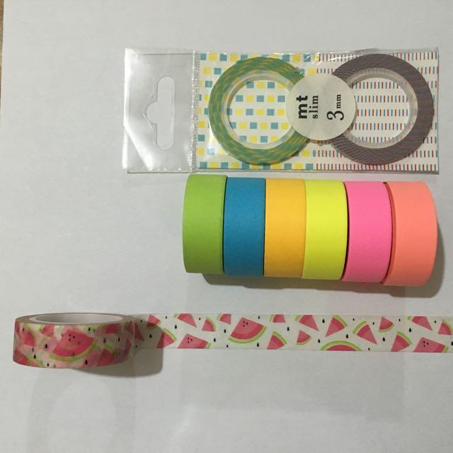 Loira Bailora MT Slim Washi Tapes
