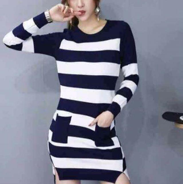 Long Sleeve Strech Dress