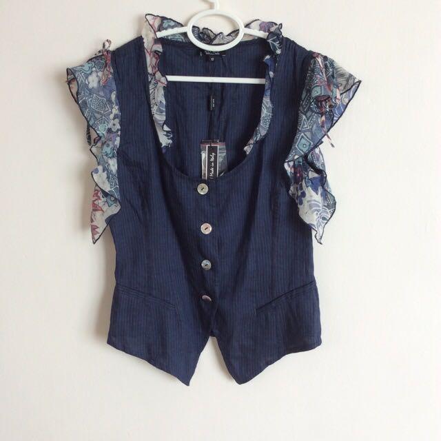 9e4229c7ab2e5d Marks And Spencer (M&S) PER UNA Designer Vest Top, Women's Fashion ...