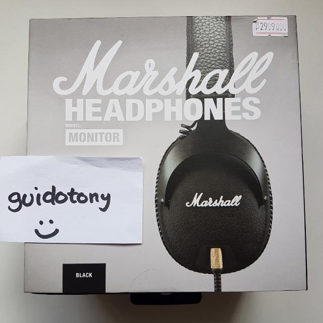 Marshall headphone monitor original